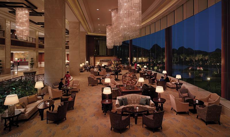 桂林香格里拉中式酒店家具项目