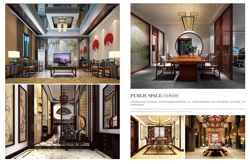 新中式酒店公区空间家具配套 HTGQ07