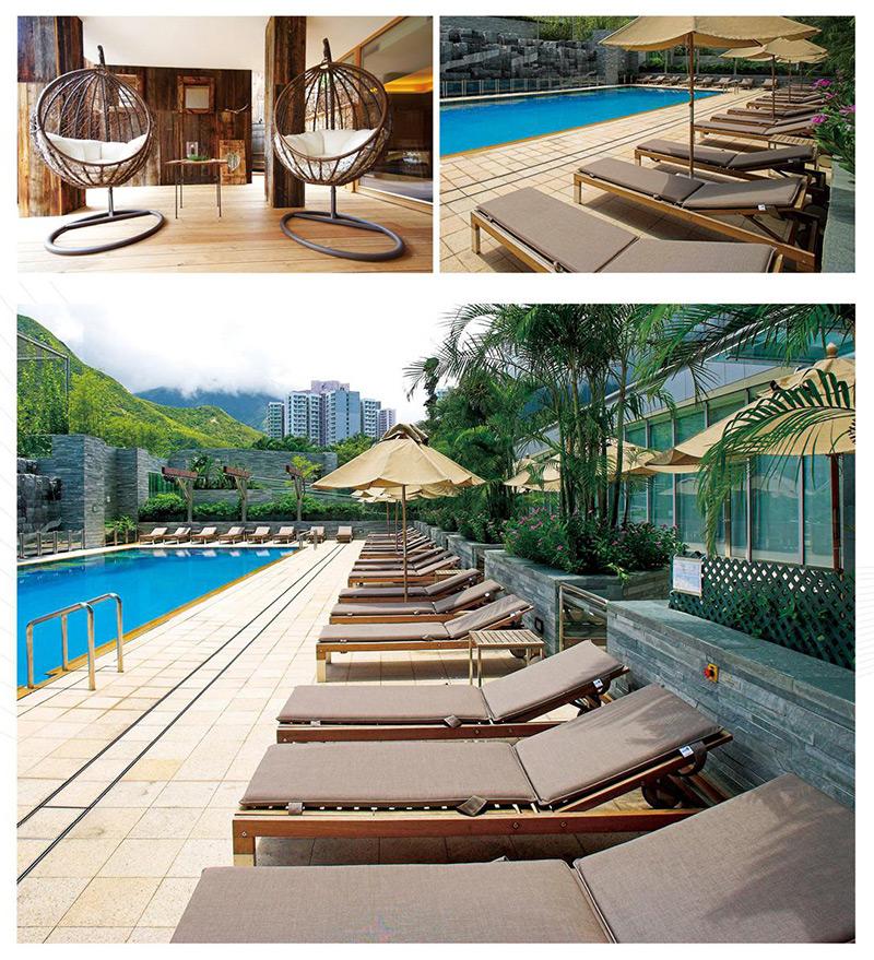 度假酒店户外家具 泳池家具 HTHW02