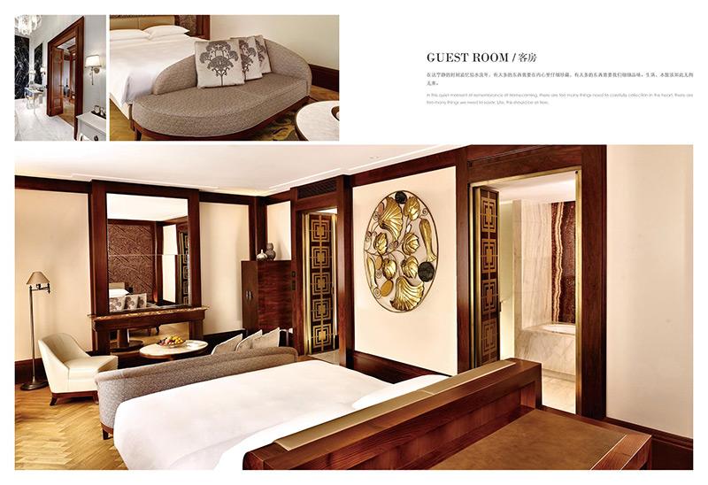 高端中式酒店套房家具 整体定制 HTTF21