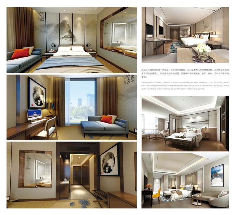 现代新中式酒店家具整体方案 HTTF07