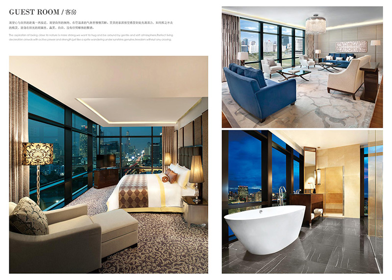 专业酒店客房家具 HTTF34